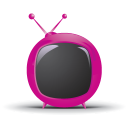Red Rounded TV-128