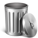 Metal Trash Empty-128