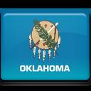 Oklahoma Flag-128
