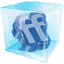 Friendfeed Ice icon