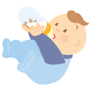 Baby Boy Drinking-128