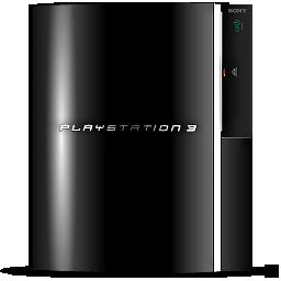 Black Play Station 3