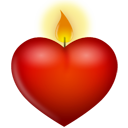 Heart Candle-128