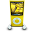 Yellow iPod Nano icon