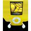 Yellow iPod Nano-64