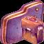Bag Violet Folder icon