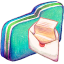 Mail Green Folder icon
