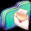 Mail Green Folder icon