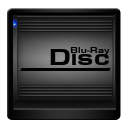 Black Blu Ray Disc-256