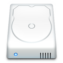 Hard Drive Icon Download Mac Os X Style Icons Iconspedia
