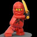 Lego Ninja Red-128