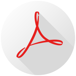 Acrobat Reader Long Shadow