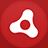 Adobe Air flat circle-48