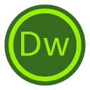 Adobe Dreamweaver Circle-128