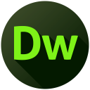 Adobe Dreamweaver Long Shadow-128