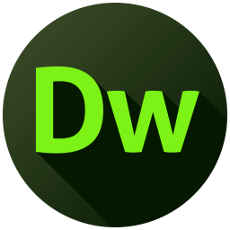 Adobe Dreamweaver Long Shadow