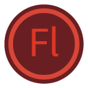 Adobe Flash Circle-128