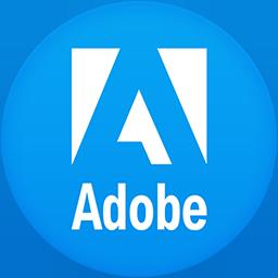 Adobe flat circle