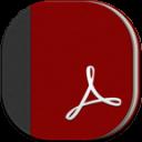 Adobe Reader Flat Round