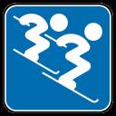 Alpine Skiing Double-128