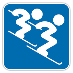 Alpine Skiing Double