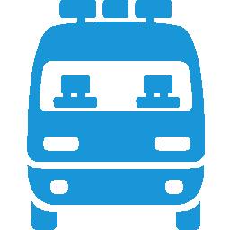 Ambulance blue