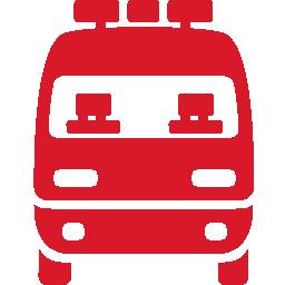 Ambulance red