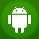 Android flat circle-128