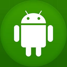 Android flat circle