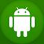Android flat circle-64