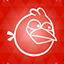 Angrybirds orange-64