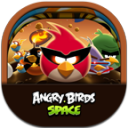 Angrybirdsspace Flat Round