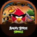 Angrybirdsspace Flat Round