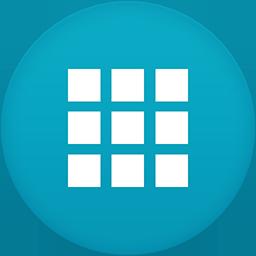 App Draw flat circle