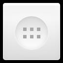 App Drawer White
