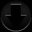 Arrow Circle Down-128