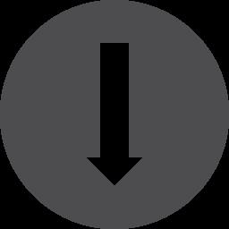 Arrow Down Alt2 Vector
