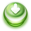 Arrow Down Button Green icon