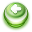 Arrow Left Button Green-64