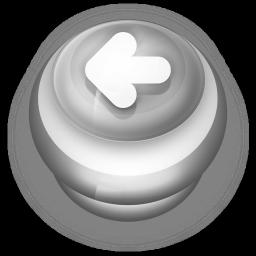 Arrow Left Button Grey