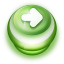 Arrow Right Button Green icon