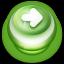 Arrow Right Button Green Icon