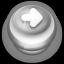 Arrow Right Button Grey-64