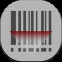 Barcode Scanner Flat Round