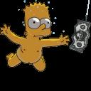 Bart Simpson Nirvana Nevermind-128