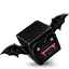 Bat cube icon