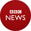 Bbc News flat circle icon