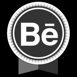 Behance Round Ribbon