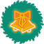 Bells Wreath icon