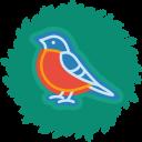 Bird Wreath-128